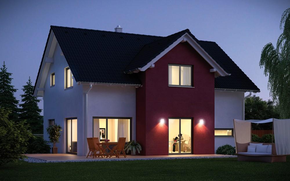 Haus BEST-EMONDI 145 - Fertighaus mit Satteldach