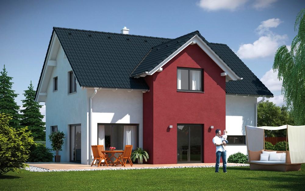 Haus Best Emondi 145 Fertighaus Mit Satteldach